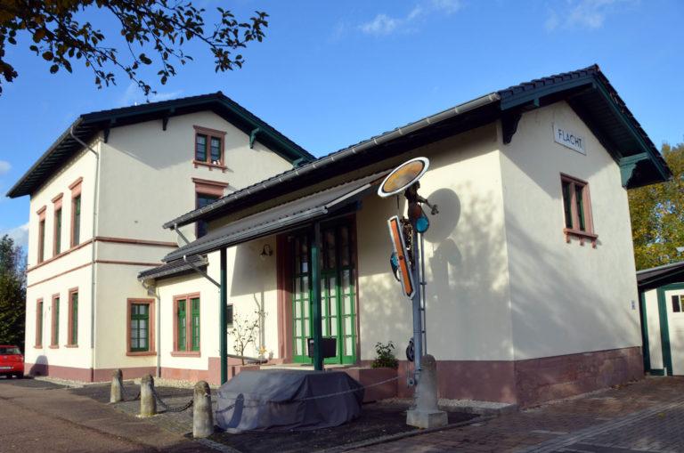 Alter Bahnhof Flacht