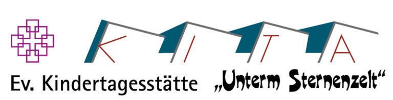 """Logo Kita """"Unterm Sternenzelt"""""""